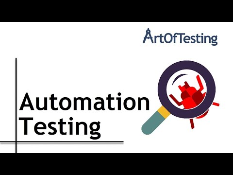 What is Automation testing? Its features, advantages, disadvantages and the test automation process?