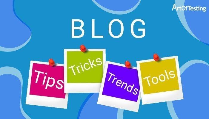 Testing Blog