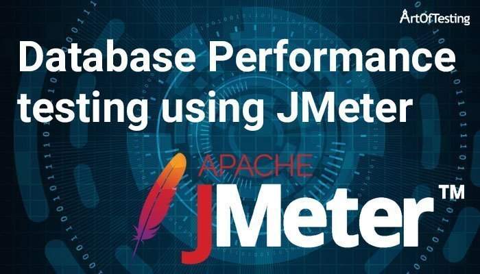 database performance testing using JMeter