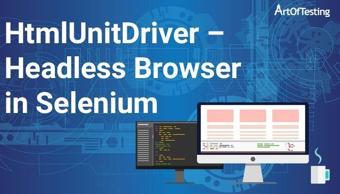htmlunitdriver headless browser in selenium