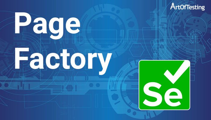 Page Factory in selenium