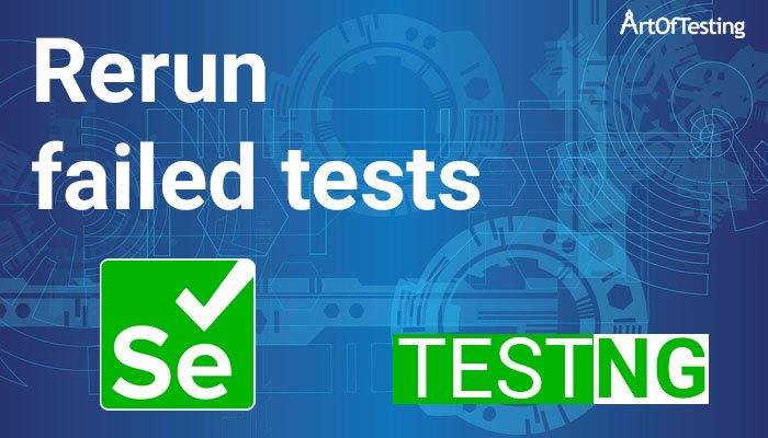 Rerun failed tests