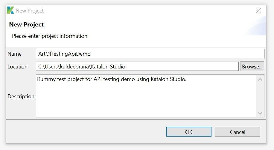Katalon Studio API Testing