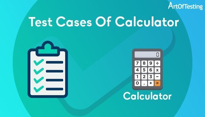 test cases of calculator