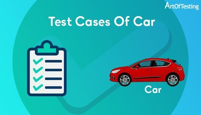 test cases of car