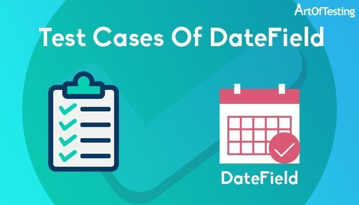 test cases of date field