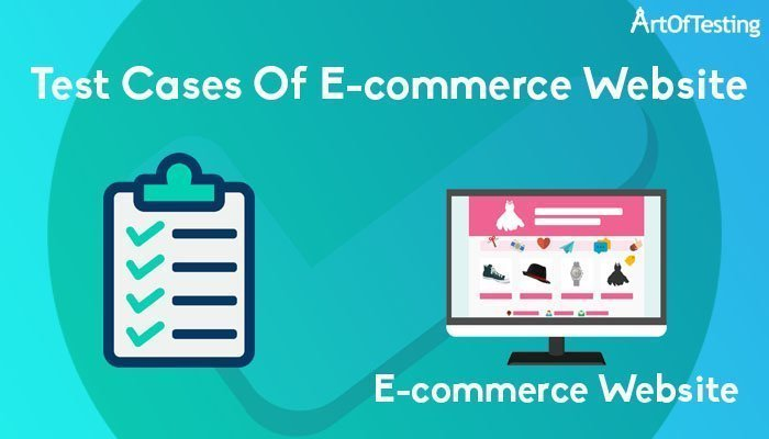 test cases of ecommerce