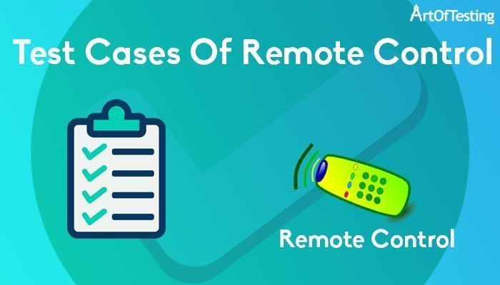 test cases of remote control