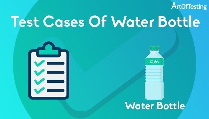 test cases of water bottle
