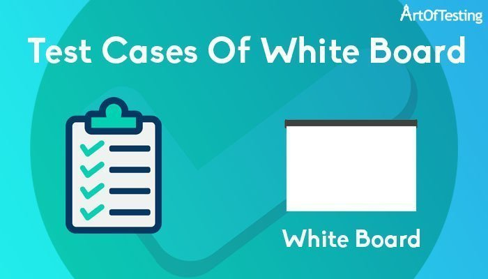 test case of white board