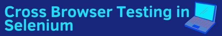 Cross Browser Testing in Selenium and TestNG