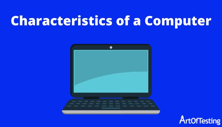 characteristics of computer