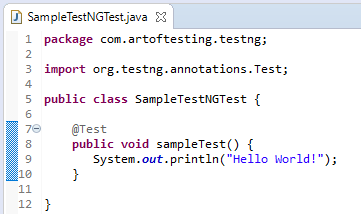 What is testng